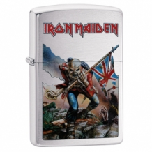 Zippo aansteker Iron Maiden The Trooper